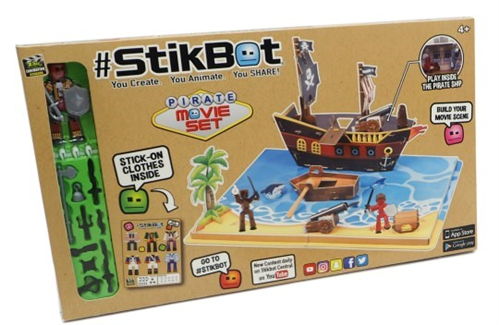 StikBot Stop Motion Pirate Movie Set TOY IMAGES 44 1