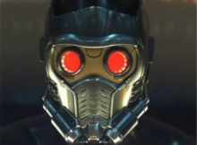 Marvel Guardian of the Galaxy Starlord Electronic Helmet 12