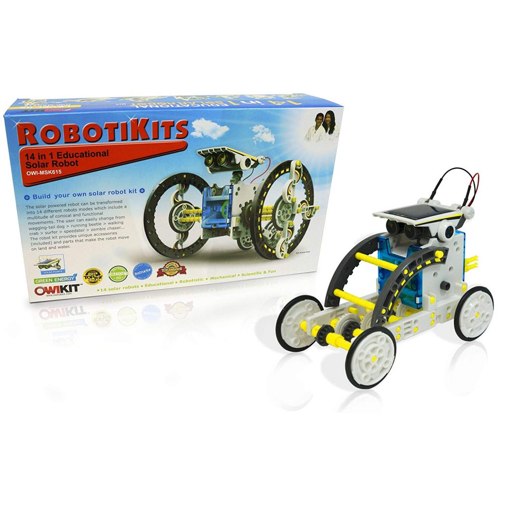 solar robot 14 in 1 Educational Solar Robot Kit solar robot