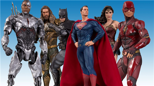 DC Justice League [Movie] Collectible Statues 1