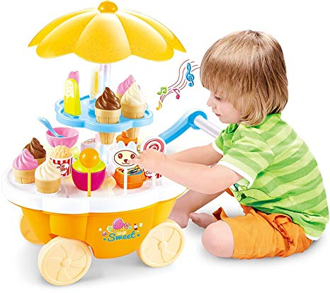 Scoop & Learn Ice Cream Cart  Scoop & Learn Ice Cream Cart SCOOR