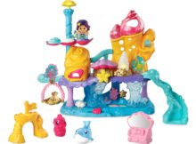 Go! Go! Smart Friends Shimmering Seashell Castle Playset 2